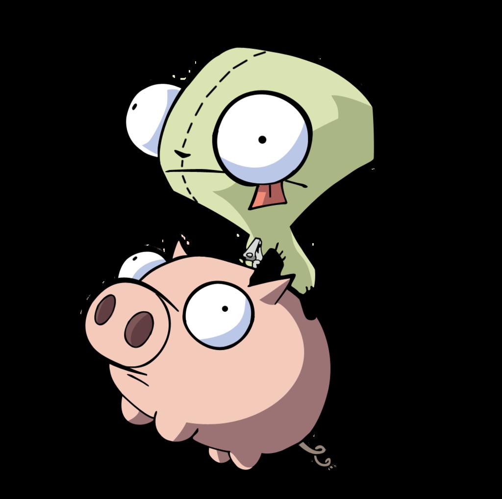 gir on pig