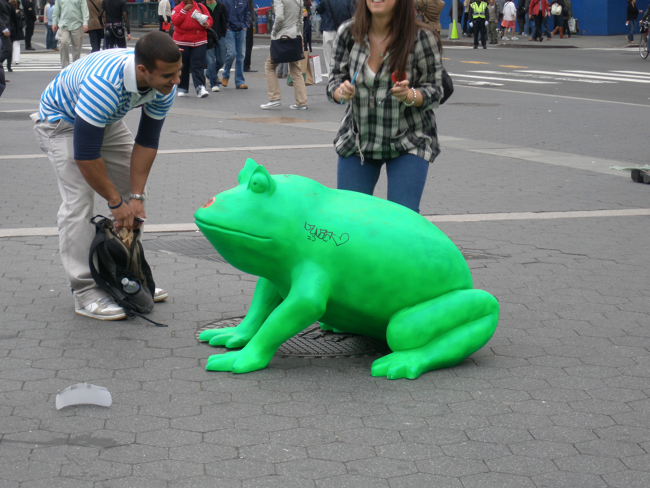 union square FROG