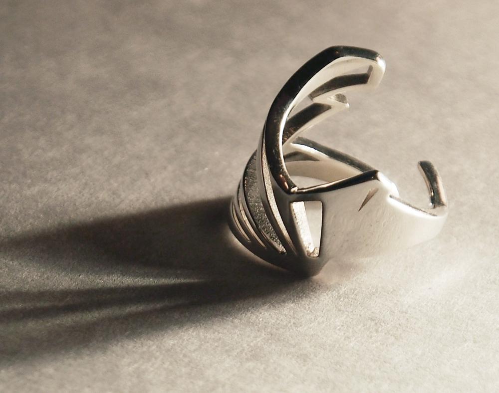 """""""heron""""_ring ($90)"""