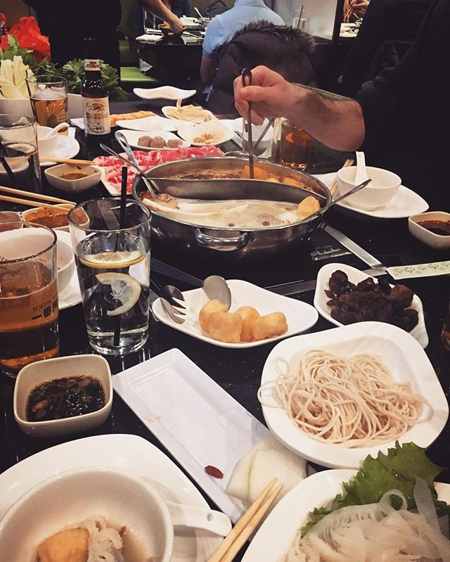 Team hotpotiversery.  #hotpot #hotpotiversary  #killinit #yum #food