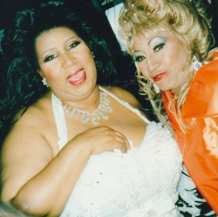 Queen of Soul, Aretha Franklin and the Queen of Salsa, Celia Cruz by Alexis Rodriguez-Duarte