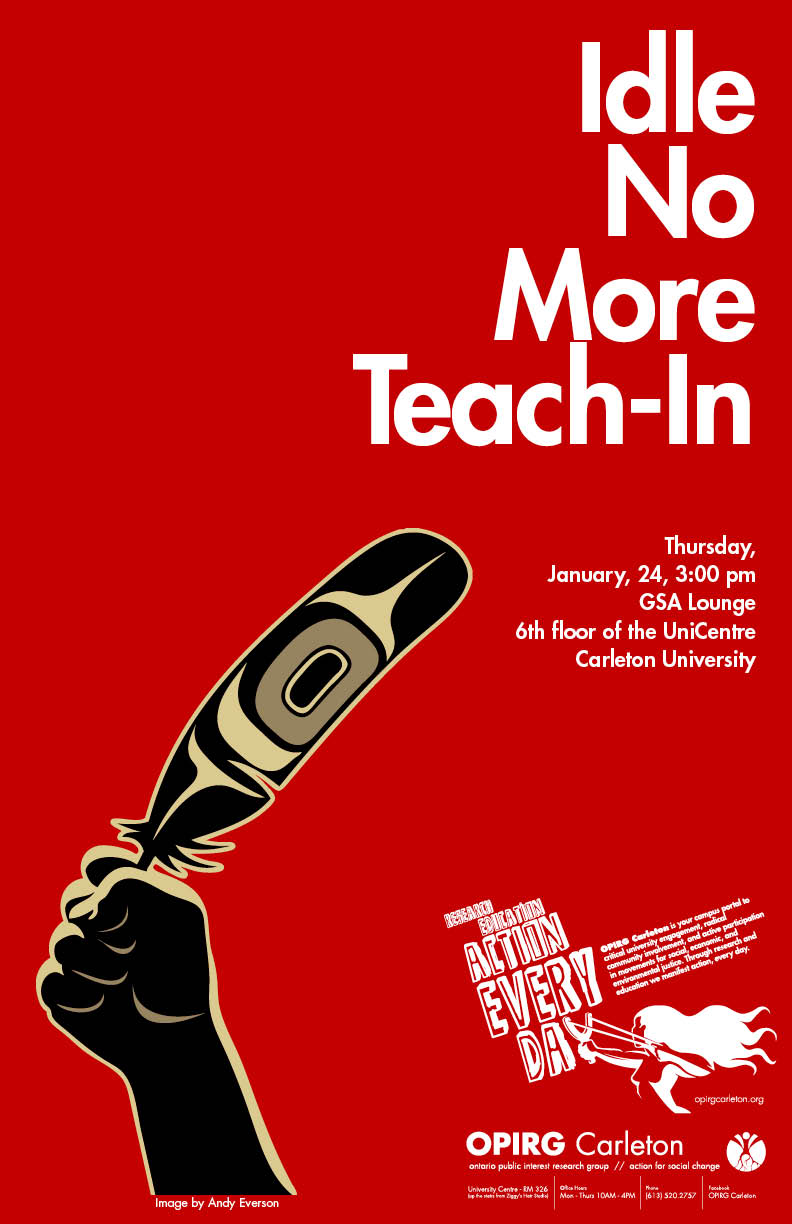 Idle No More Teach-In