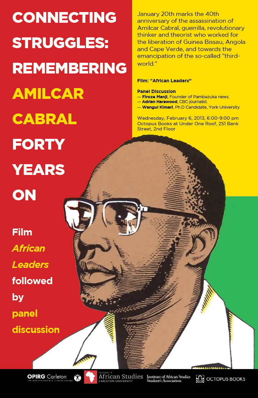 Amilcar Cabral Poster