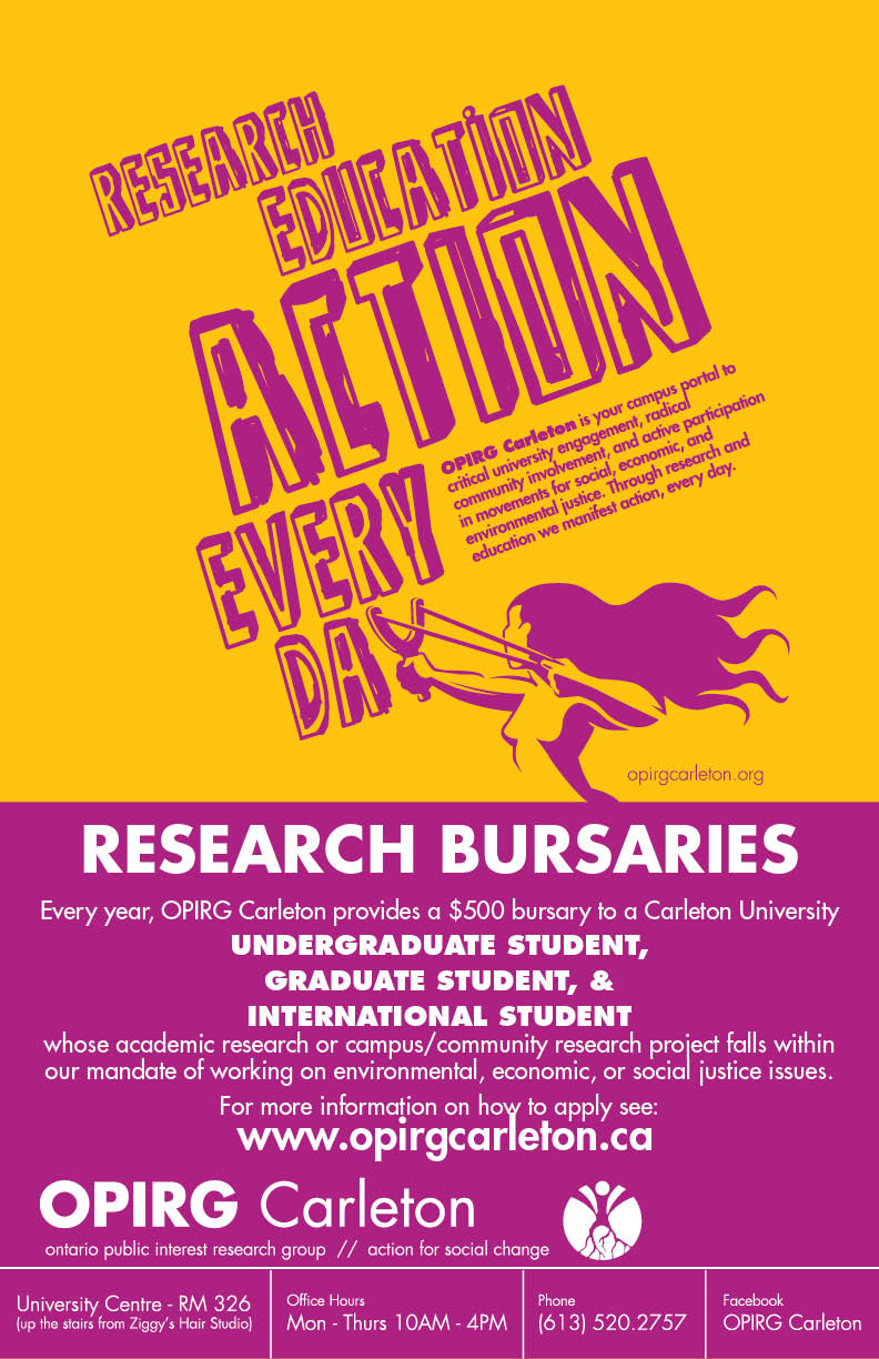 Research Bursaries poster