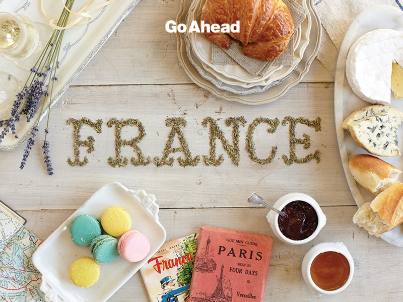 France postcard.