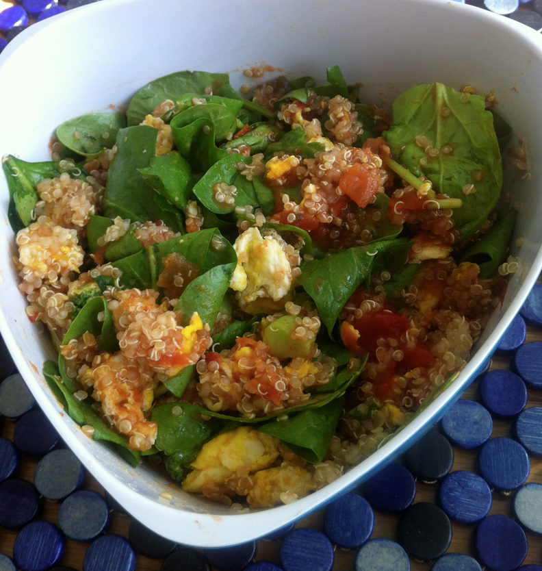 Eggs n' Quinoa Power Bowl