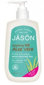 Affordable, clean aloe vera gel