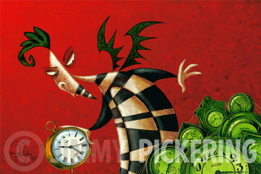 Jimmy Pickering - Time Stealer.jpg