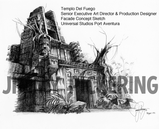 Jimmy Pickering Templo Del Fuego Universal Studios 02.jpg