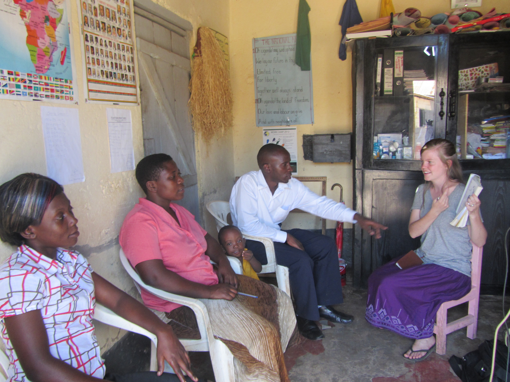 Unfortunately, even adults have missed the opportunity to learn life-saving preventative health care. Brynn Foster teaches this small group in their home.