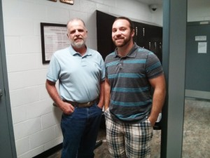 Craig Duffy and Scott Sherrod visit the juvenile detention center regularly. Befriending the boys in the center, they are able to offer bible studies, prayer, listening ears, and advice.