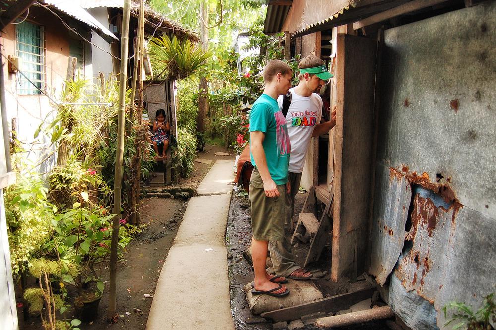 Visiting Sagkahan changed Jason Carpenter's life.