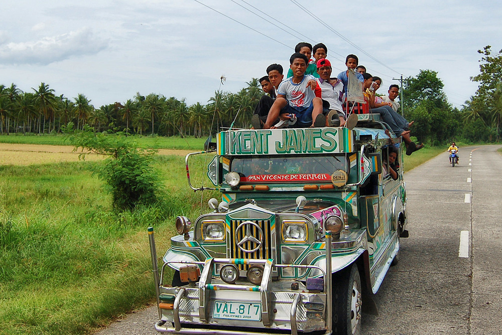 Jeepneys are a country staple for transportation. You can always add one more.