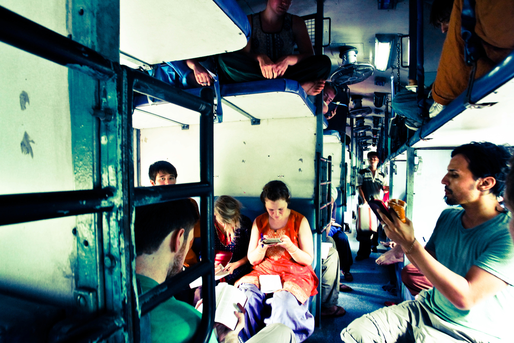 Sometimes a single train ride could last 30 hours! We would spend the time studying, singing, sharing, and conversating.