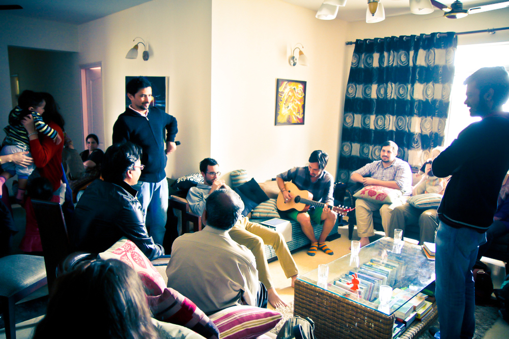 In 2012, Gregg Garner redirected the team into the National Capital Region, this is a photo of a gathering at our friends' home in the area.