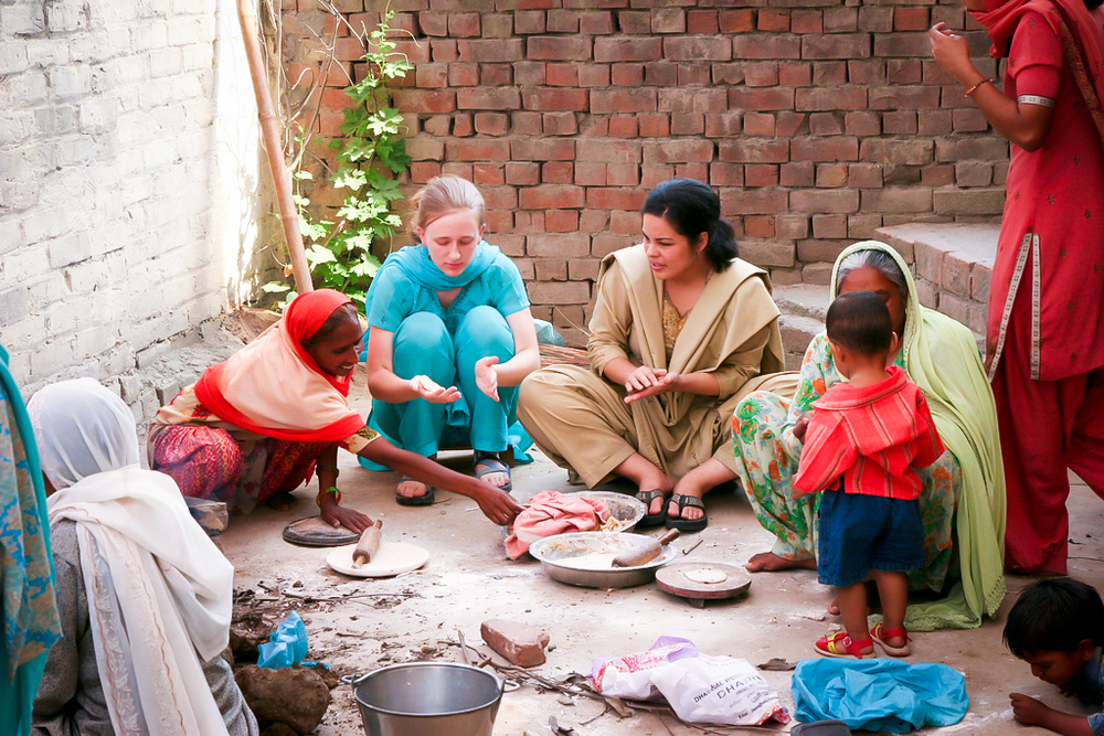 Sharing meals really comes to life in India.