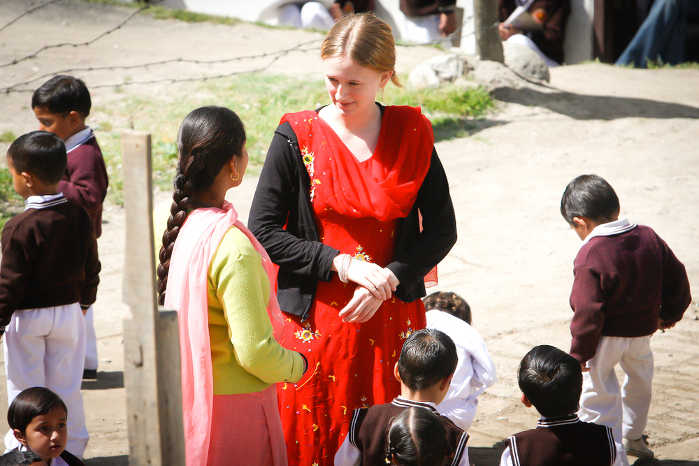 Rachel Nowlin found her passion for teaching children in India.