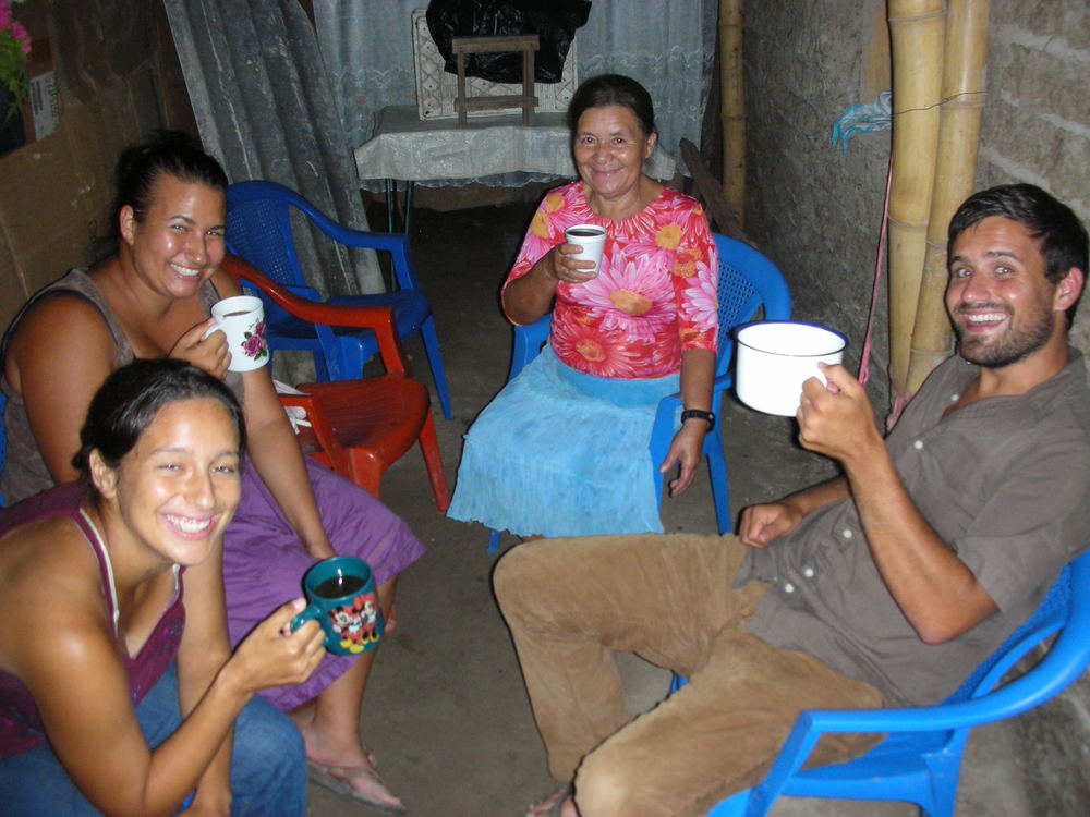 We met Rosa, top right, while visiting a slum community near San Salvador in 2010.  The hospitality that she showed our team that day, and on many days since, revealed her heart for service and love for God. Because she opened the door to us, we have been able to serve her family and her community in a variety of ways since then.