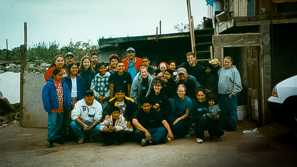 This was the first group of middle school and high school students that we took to Ensesnada, MX.
