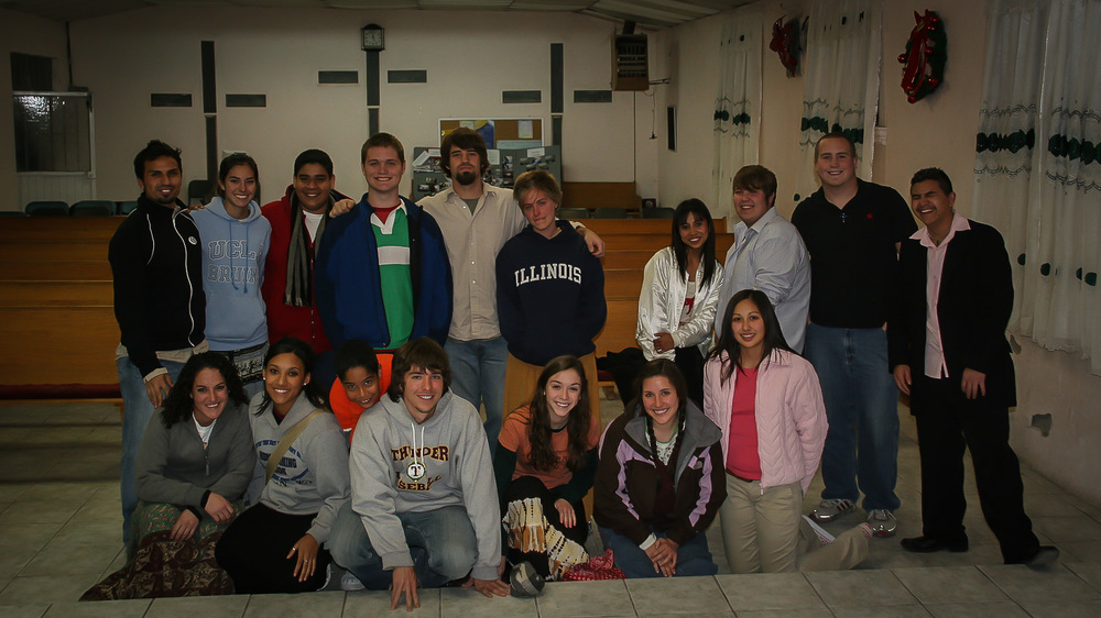 This was a team to Juarez, Mexico. The hospitality of the community was very endearing.
