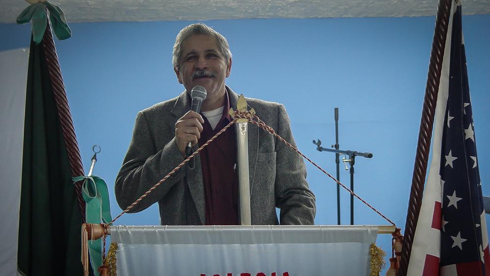Pastor Santana was a very passionate preacher.