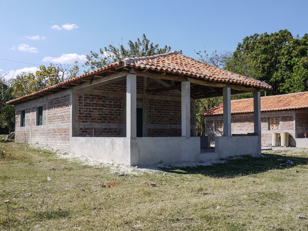 In true Salvadoran style, the homes constructed in 2011 each have a wide porch that extends from the front of the house. The porches of our houses have become areas where we frequently extend hospitality to our neighbors, enjoying meals together, play games, facilitate times of worship and study of the Word, and even host tutoring sessions.