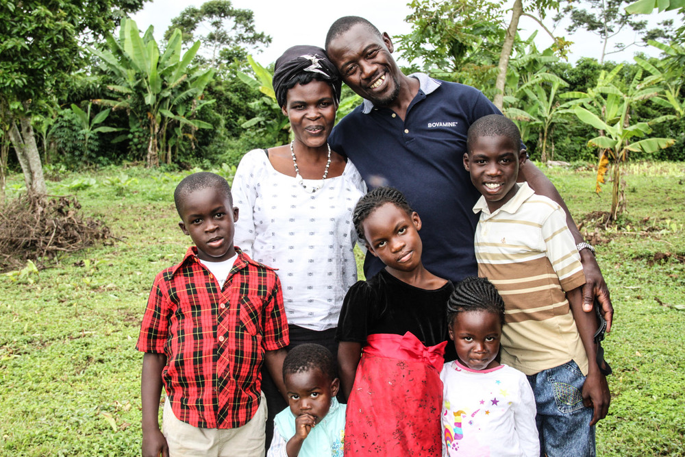 Peter Kimbugwe and his wife Cissy have been serving with G.O.D. Int'l in East Africa for over a decade. They have six children (five pictured here). Peter is one of our main cooperatives. He regularly hosts our teams when they are on the field, and translates during bible studies and meetings.