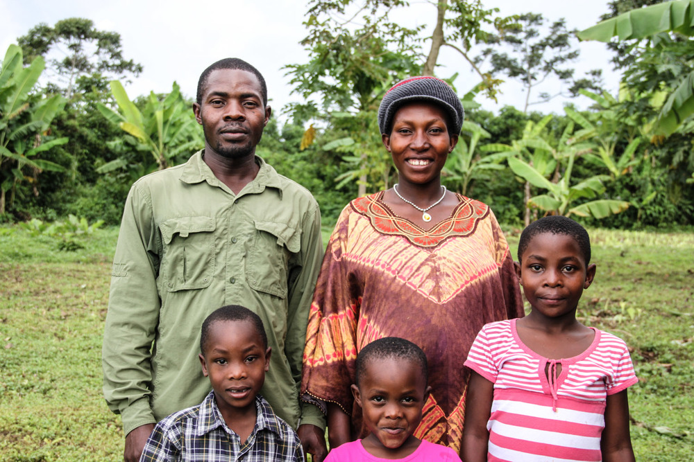 Francis Lubega and his wife Annette have been serving with G.O.D. Int'l in East Africa since 2007. They have four children: Rebekah, Victor, Rachael, and Micah. Francis is a builder and an educator and Annette is raising their children, teaching them the Word of God.