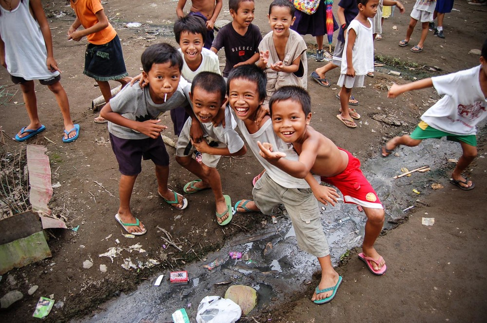 These children have a countenance that is contagious, yet their living environment is far less from suitable for their well-being.  Playing in streams of raw sewage is not uncommon for them, but should be abhorred sight.  These are the conditions the South East Asia team desires to transform into areas of land that thrive with healthy human beings.