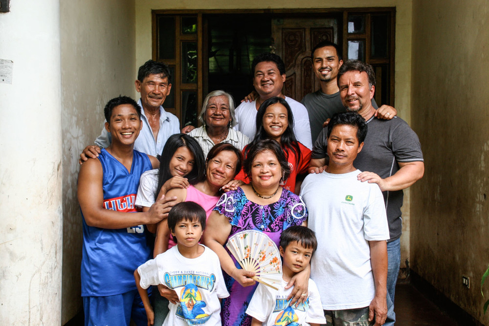 Founder and CEO Gregg Garner spends time with his family in Dulag, on the island of Luzon.  Gregg's parents met when Mike (his father) was handing out Bibles as a young soldier on the streets of Olongapo. Our organization's presence in the Philippines originates from their family's time there in the 80s as missionaries.
