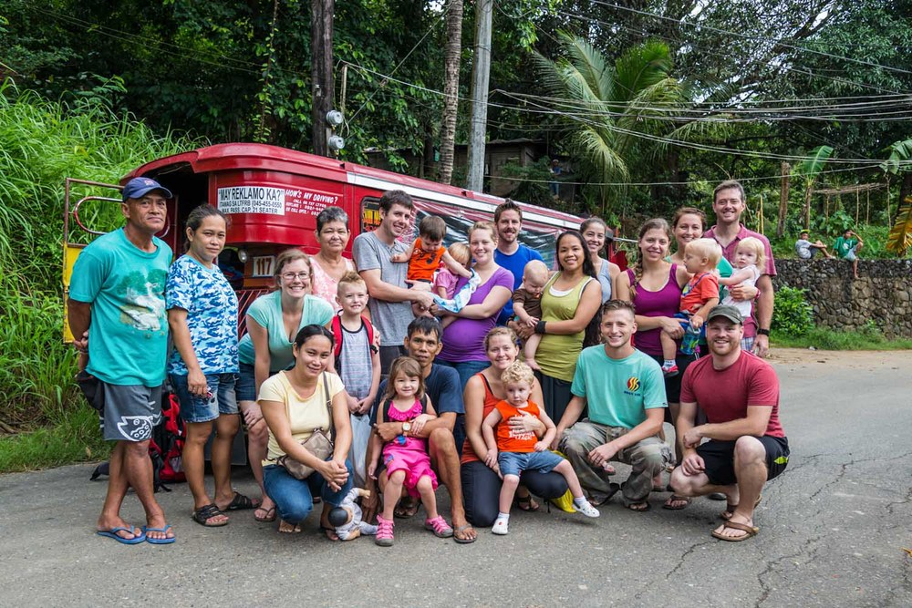 In year 2013, GOD International sent 10 families to the Philippines. Not only did they learn cultural practices of living in the Philippines, but also how to navigate the environment while doing ministry work to benefit the marginalized in the regions of Luzon and Cebu. These are a few of the families with new friends in Olongapo City.