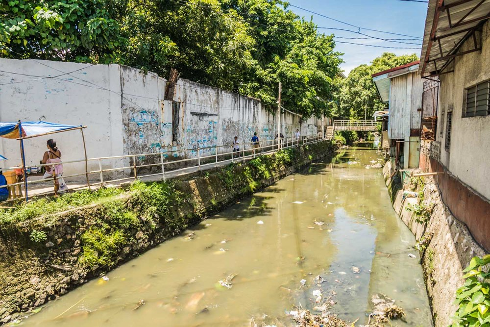 City canals unfortunately often serve as sources of waste water and water that people use for cooking and washing.  The stagnancy of the water also produces a variety of pests that carry disease.
