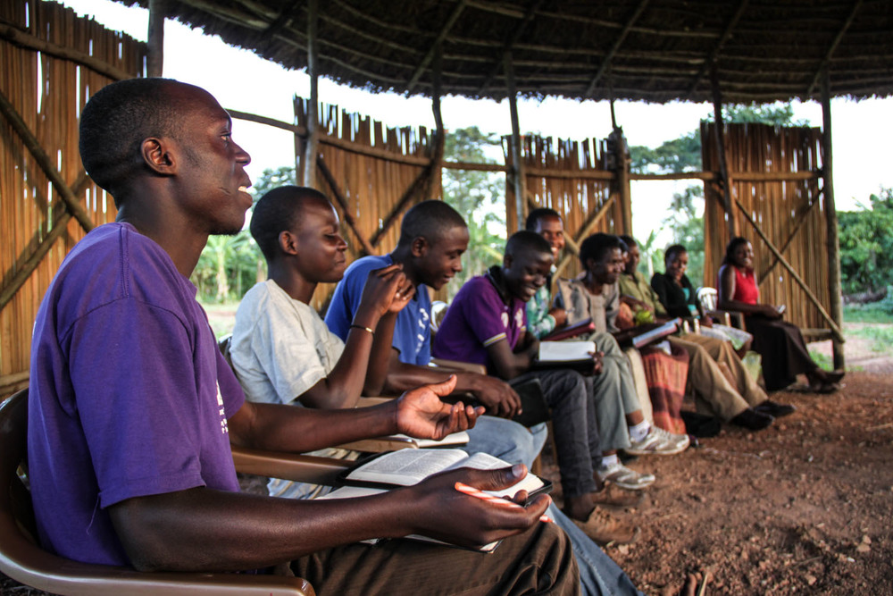 These young people enjoy listening to bible teaching. In the past few years, our community in East Africa has expanded to include a group of youth who are hungry to learn God's word and eager to know how to benefit their community by living lives in service to God and others.