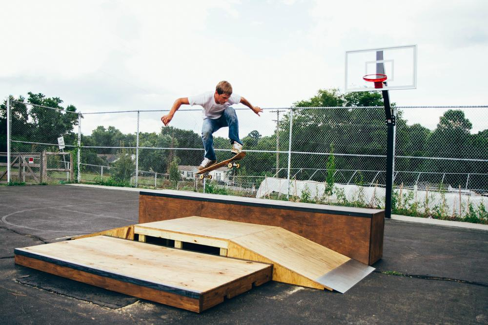 Aaseby's motivation in building the skatepark is to cultivate relationships with the youth in order to benefit them in their development. He, and others at G.O.D., are prepared to get involved, not just as someone who can show them what can be done with a board and four wheels, but as a teacher and mentor in formative stages of life.