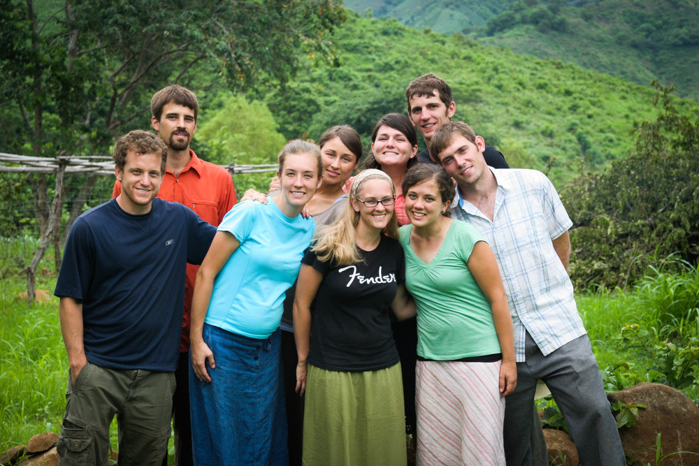 Part of the Latin America team in Guatemala, 2008.