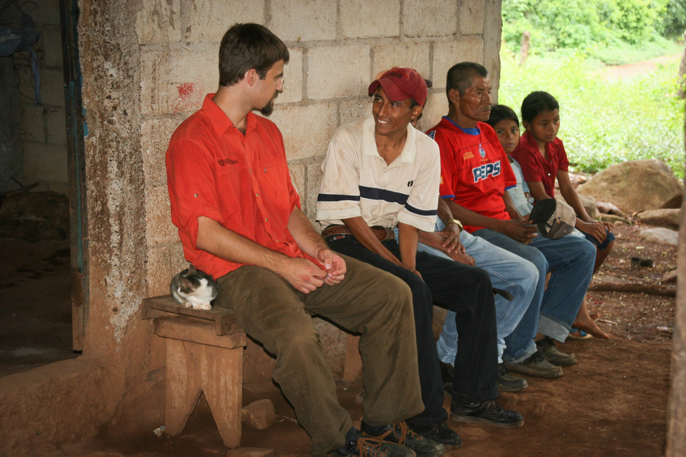 Mike Davis genuinely enjoys the conversations he gets to have in Spanish with the people we serve.