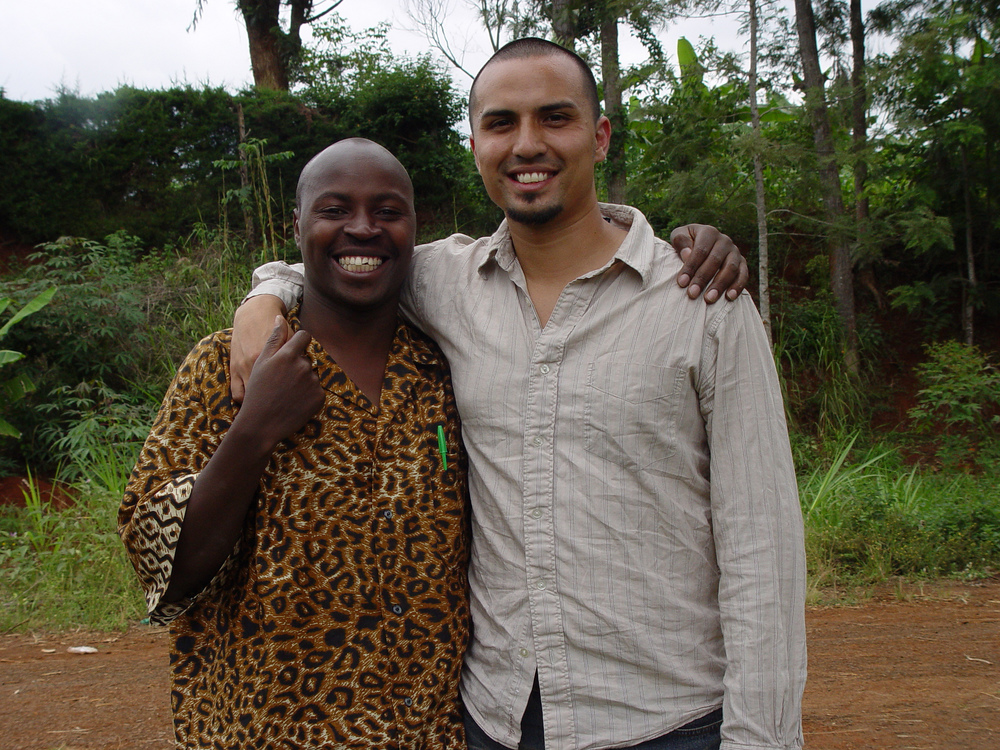 Nicholas Njeru, son of Elias Rukenya, continues to be a cultural liaison for our work in Kenya.