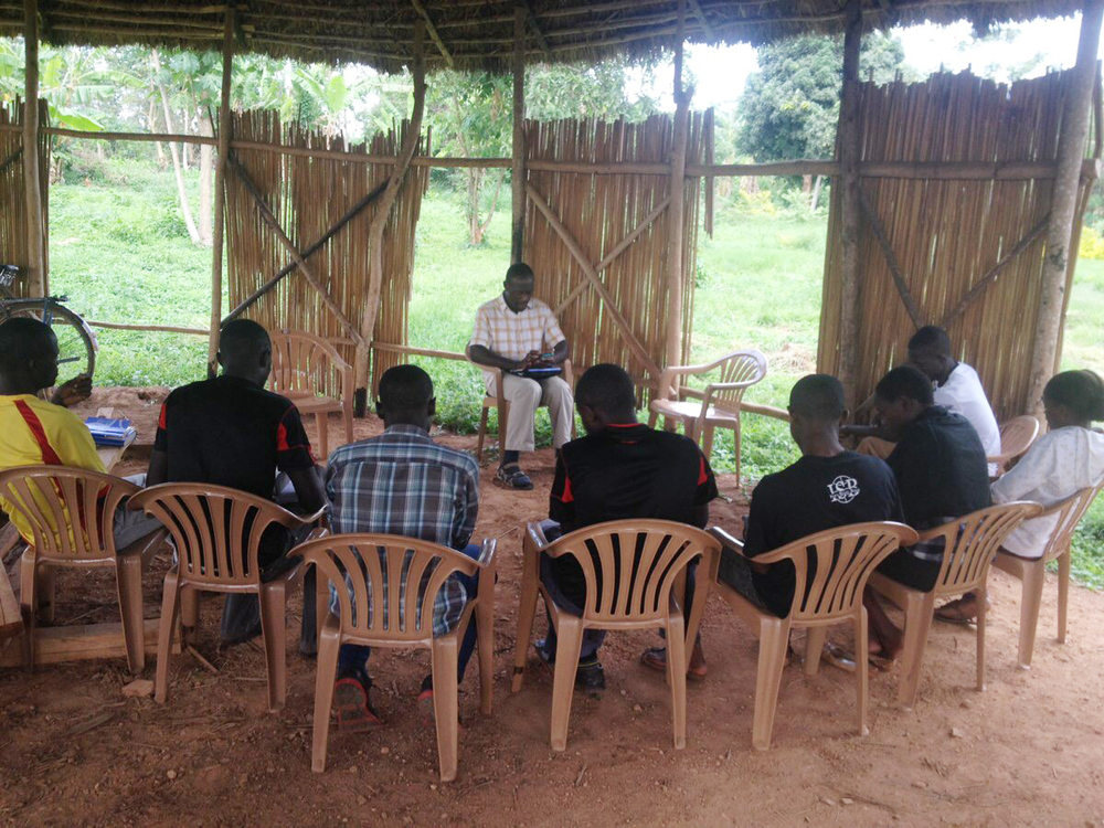 Peter instructs college students in a class called Christian Development, which introduces psychological and developmental concepts about living out a vocation and participating in a community of faith.