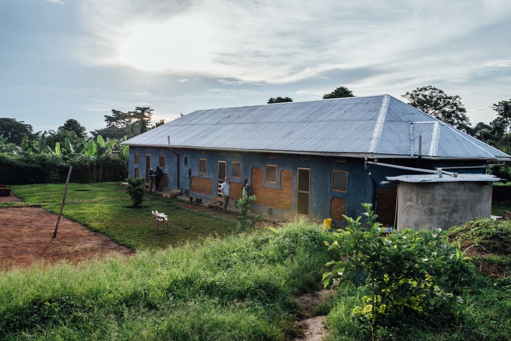 We have 7 acres of land in Uganda, most of which is currently devoted to food production. This is the triplex, our transitional housing unit for missionaries. There are now two other homes built for Peter and Simon, with more to follow.