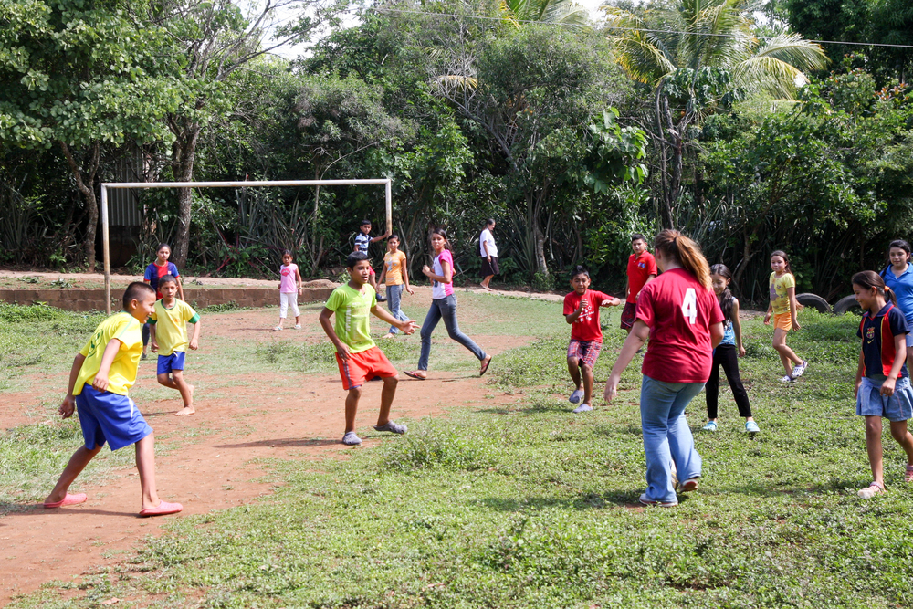 Futbol matches are a necessary component of our days in El Salvador, helping us to build relationships with neighbors.