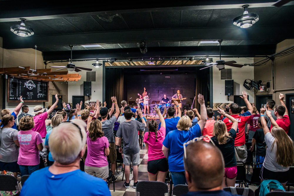 Times of worship are integral for students to connect with the Lord. Our worship leaders challenge students to not simply repeat lyrics, but to engage their minds in worship by actively considering the words they are singing in light of their relationship with the Lord.