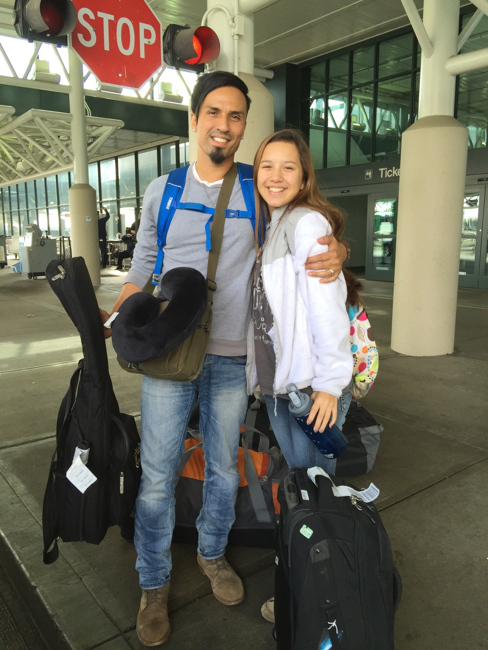 Gregg Garner, President and Founder of G.O.D. Int'l, takes his daughter Genesis on mission to El Salvador.