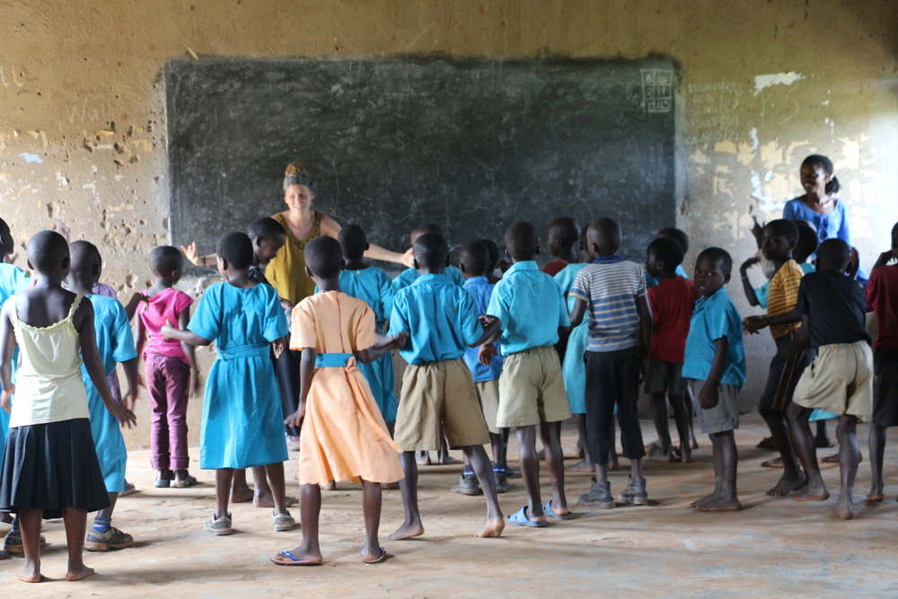 Laura Young's dance class has been quite the hit! While all African children will dance, it is quite a different experience to learn choreography and work towards a goal as a team.