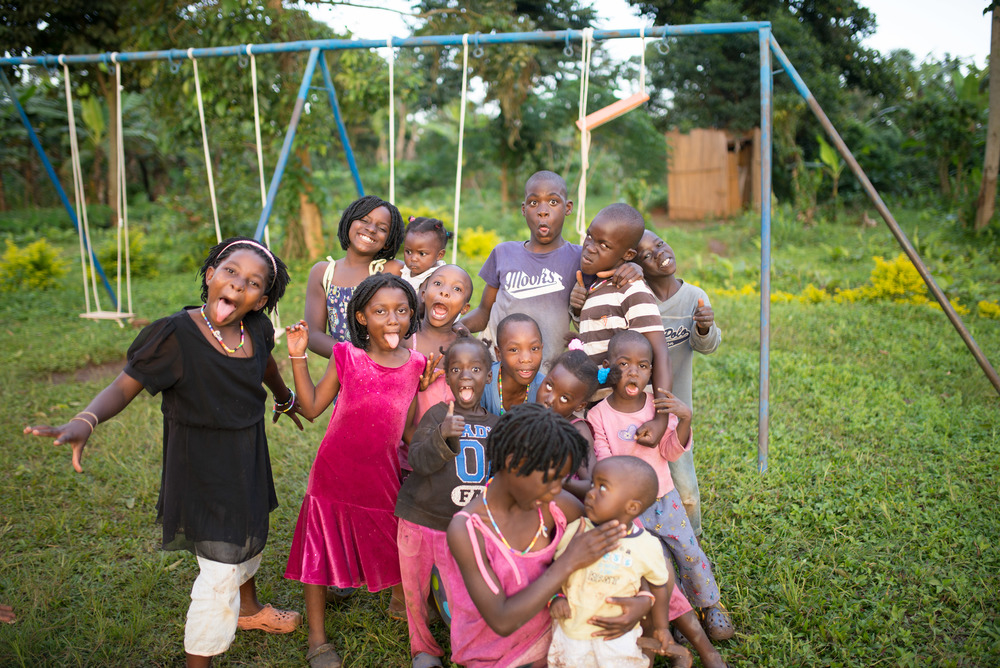 The children of our cooperative families, and a few friends from the area, are not just surviving in the midst of an impoverished area, they are beginning to thrive--enjoying being silly and playing like all kids should.