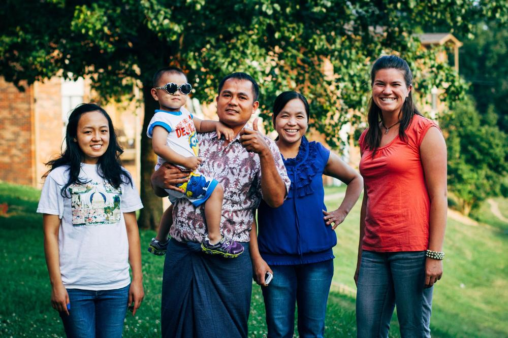 Rebekah Davis, a member of G.O.D. Int'l, teaches at the Academy for G.O.D. and volunteers her time working with Burmese refugees, teaching them both the Bible and practical things, like driver's education.