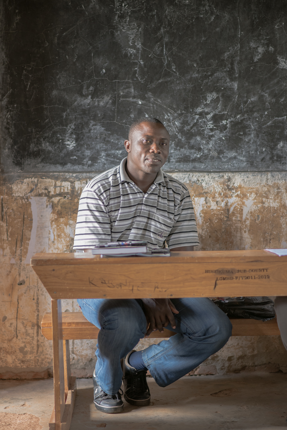 Lawrence Ssemakula, G.O.D. East Africa Cooperative and Lead Teacher at St. John's Primary