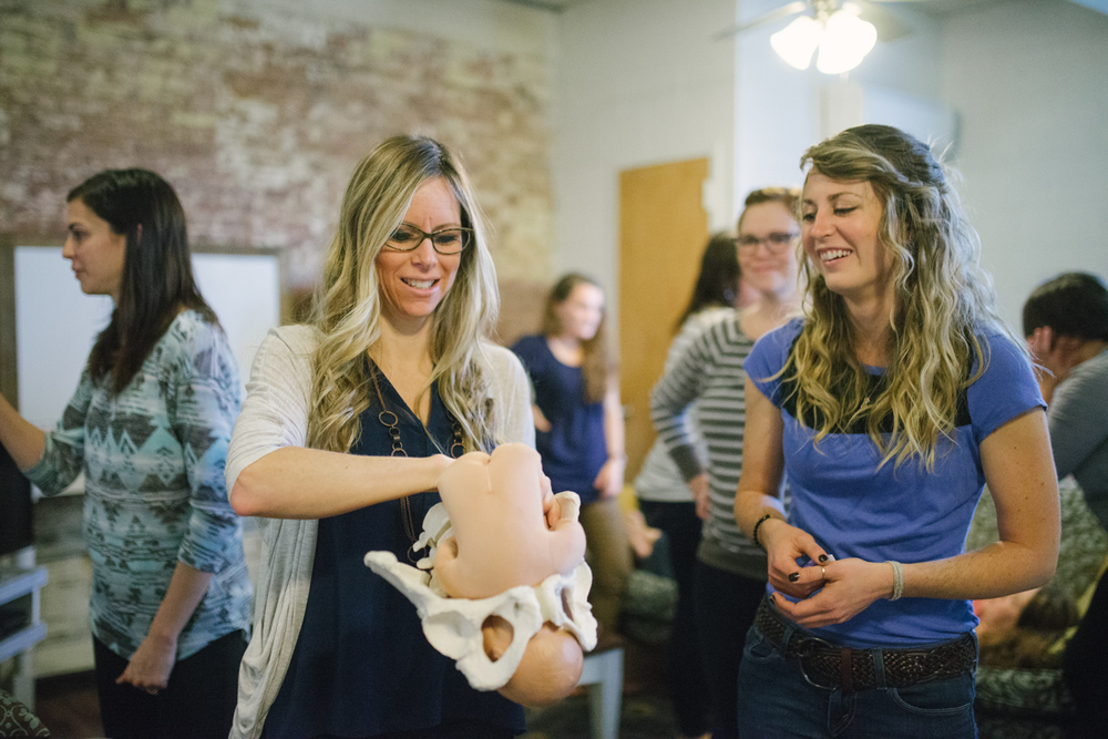One of the specialties within the Community Development program is our Maternal Health emphasis. This program, begun by Tara Garner (left), has produced dozens of childbirth educators and doulas, many of whom go on to expand their specialties in the fields of lactation and midwifery.