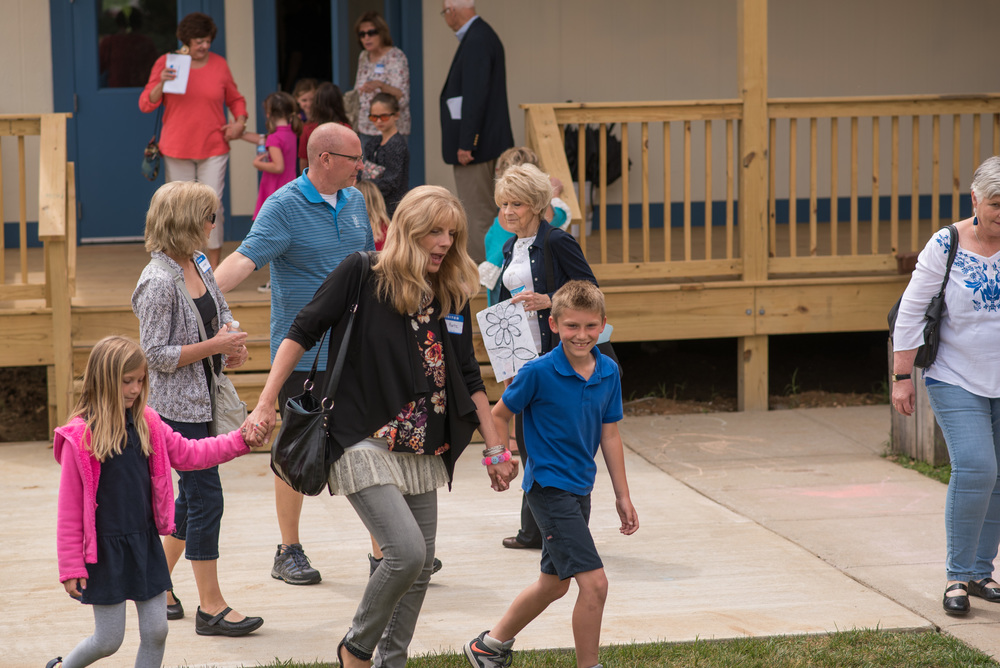 Grandparents Day is one of our favorite occasions at the Academy! Students proudly show off their school and classrooms to loved ones. Families enjoyed a meal together and a student performance to showcase their various class projects.