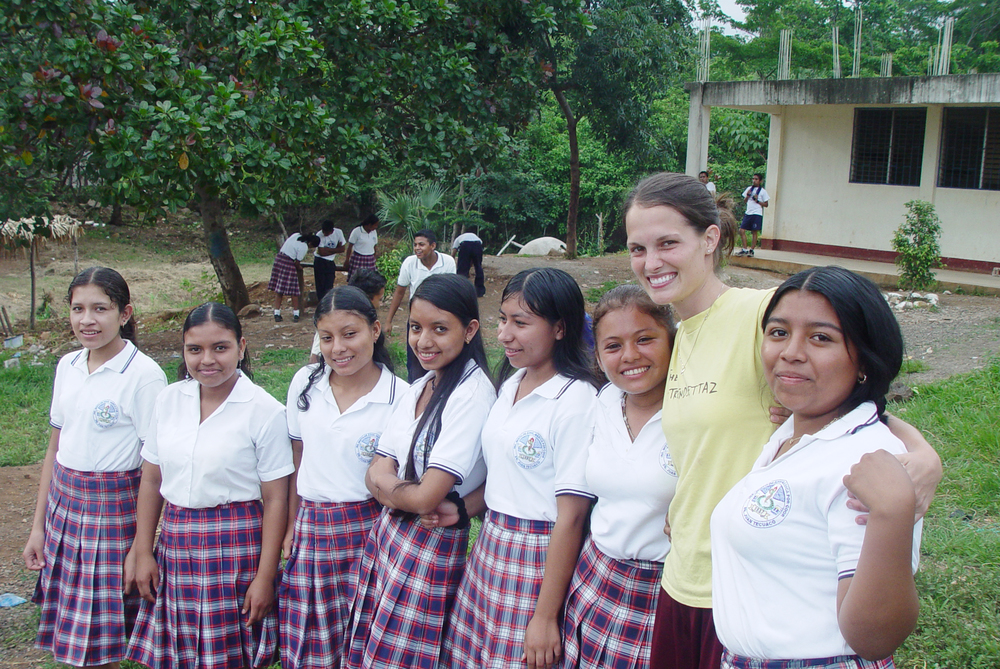 Betsy's concern for education in Latin America roots back to her initial internship with G.O.D. in 2006.