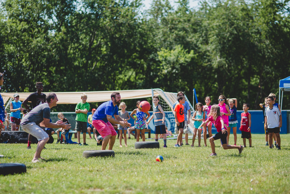 Camper V.S. Counselor games are always epic. Esperanza Davis, the last camper remaining, faces great odds as she fires a dodgeball at the camp coordinator. High pressure games like this can surface Espy's determination and yield a confidence that she never knew existed.